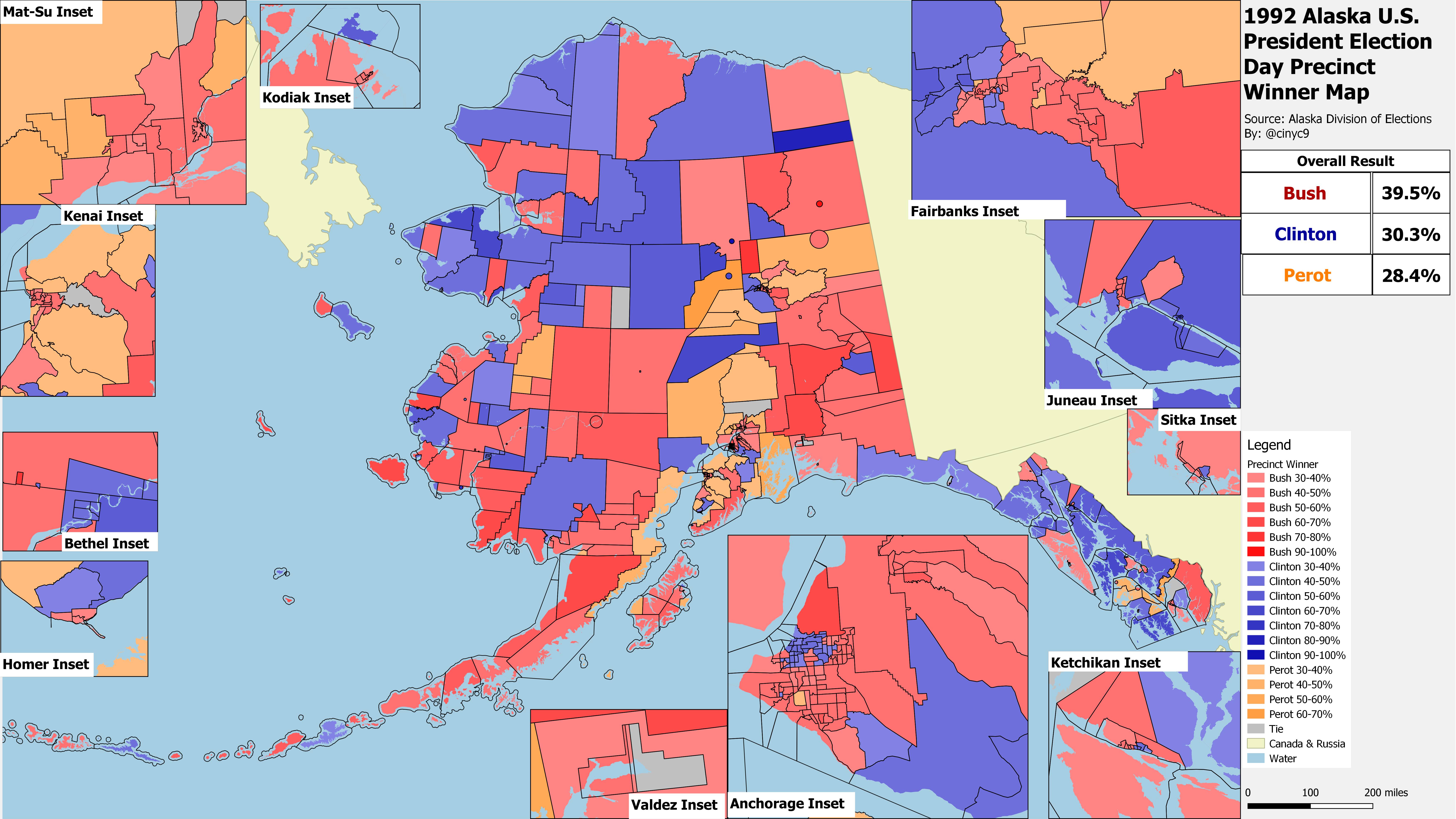 Alaska Results By County Equivalent 1960 2016 Rrh Elections