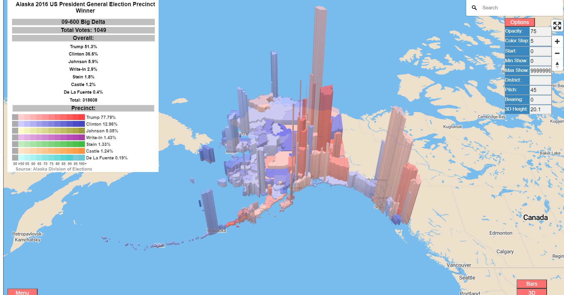 Interactive map of 2020 vs 2010 U.S. Census Response Rates